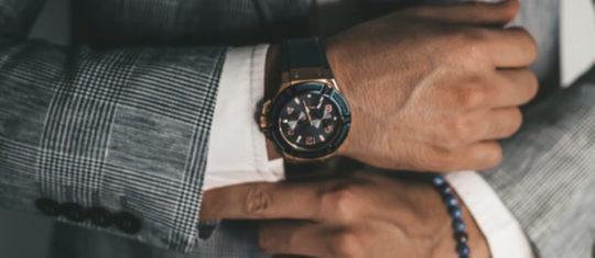 Modèle parfait de montre pour homme