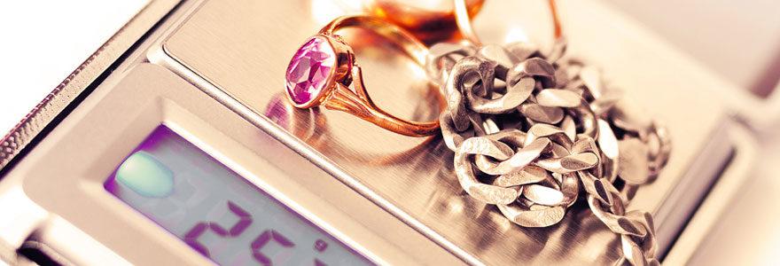 Estimation de ses bijoux